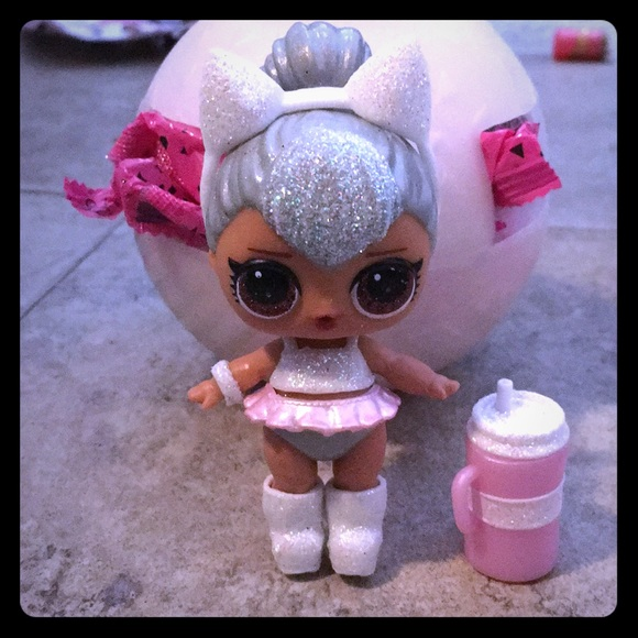 New LOL Surprise Glam Glitter Series Ultra Rare Kitty Queen